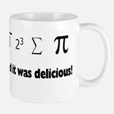 I ate sum Pi Small Small Mug
