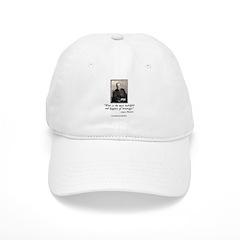 Pasteur's Healthy Wine quote Baseball Cap