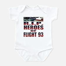 R.I.P. HEROES OF FLIGHT 93 Infant Creeper