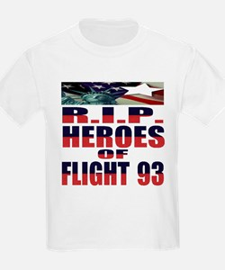 R.I.P. HEROES OF FLIGHT 93 Kids T-Shirt