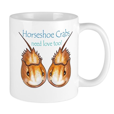 Horseshoe Crabs need love too Mug