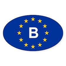 EU Belgium Decal