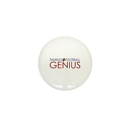 Fantasy Football Genius Mini Button (10 pack)