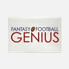 Fantasy Football Genius Rectangle Magnet