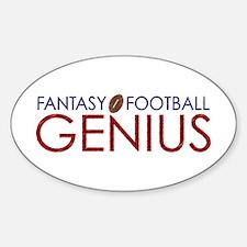 Fantasy Football Genius Decal