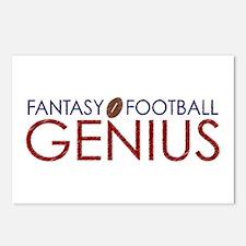 Fantasy Football Genius Postcards (Package of 8)
