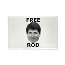 Free Rod Rectangle Magnet (10 pack)