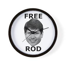 Free Rod Wall Clock