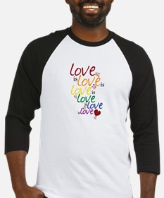 Love is Love (Gay Marriage) Baseball Jersey