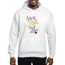 Love is Love (Gay Marriage) Hoodie
