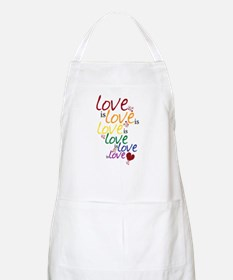 Love is Love (Gay Marriage) Apron