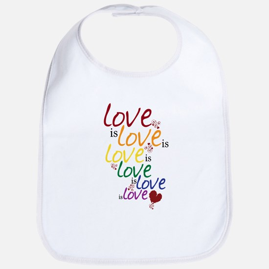 Love is Love (Gay Marriage) Bib