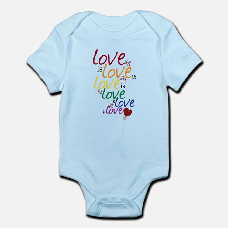 Love is Love (Gay Marriage) Infant Bodysuit