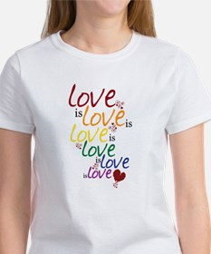 Love is Love (Gay Marriage) Women's T-Shirt