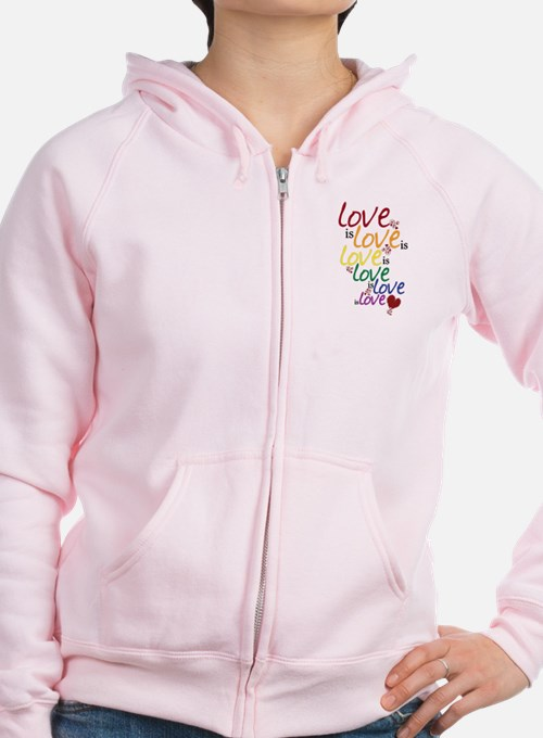 Love is Love (Gay Marriage) Zip Hoodie