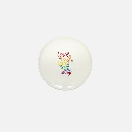 Love is Love (Gay Marriage) Mini Button