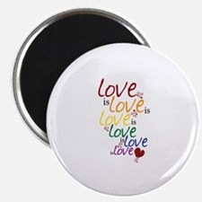 "Love is Love (Gay Marriage) 2.25"" Magnet (10 pack)"