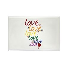 Love is Love (Gay Marriage) Rectangle Magnet
