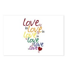 Love is Love (Gay Marriage) Postcards (Package of