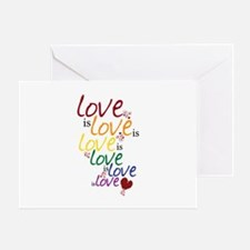 Love is Love (Gay Marriage) Greeting Card