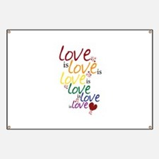 Love is Love (Gay Marriage) Banner