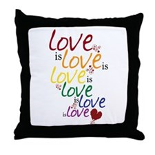 Love is Love (Gay Marriage) Throw Pillow
