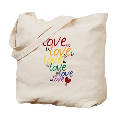 Love is Love (Gay Marriage) Tote Bag