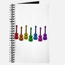 Ukulele Rainbow Journal