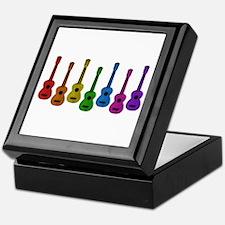 Ukulele Rainbow Keepsake Box