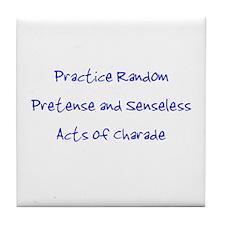 Pretense & Charade Tile Coaster