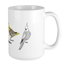 Cockatiel Rainbow Mug