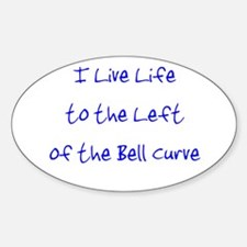 Left of the Bell Curve Decal