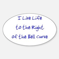 Right of the Bell Curve Decal