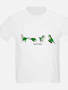 Quaker Parakeets Kids T-Shirt