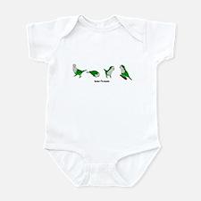 Quaker Parakeets Infant Creeper