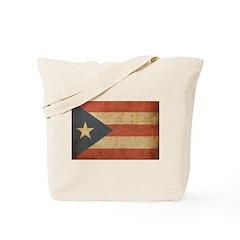 Vintage Puerto Rico Tote Bag