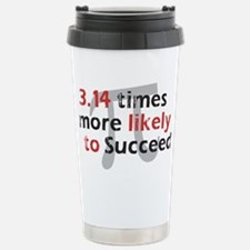 Pi Success Funny Math Travel Mug