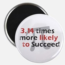 "Pi Success Funny Math 2.25"" Magnet (10 pack)"