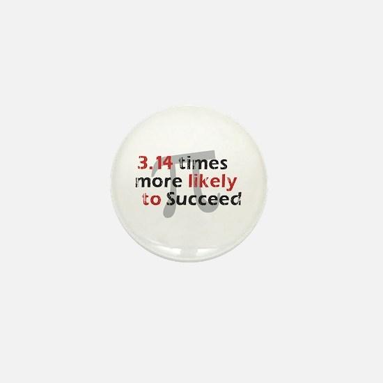 Pi Success Funny Math Mini Button