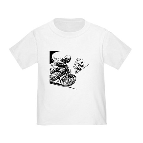 Vintage Motorcycle Racing Toddler T-Shirt