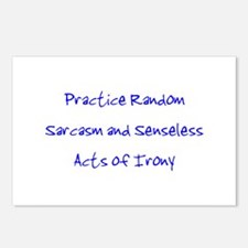 Sarcasm & Irony Postcards (Package of 8)