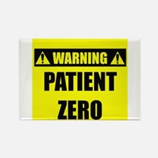 WARNING: Patient Zero Rectangle Magnet