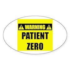 WARNING: Patient Zero Decal