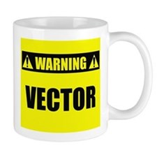 WARNING: Vector Mug