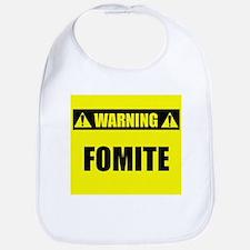WARNING: Fomite Bib