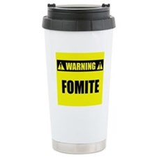 WARNING: Fomite Travel Mug