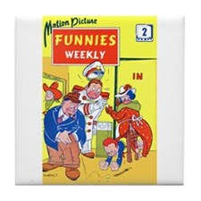 $9.99 Motion Picture Funnies Weekly 2 Mug Coaster