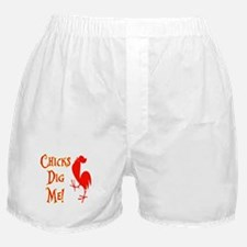 Chicks Dig Me Boxer Shorts