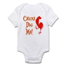Chicks Dig Me Infant Bodysuit