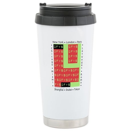 Free Your Self - Stainless Steel Travel Mug